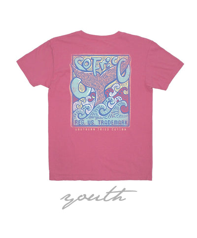 Southern Fried Cotton - Youth Fins Up Tee