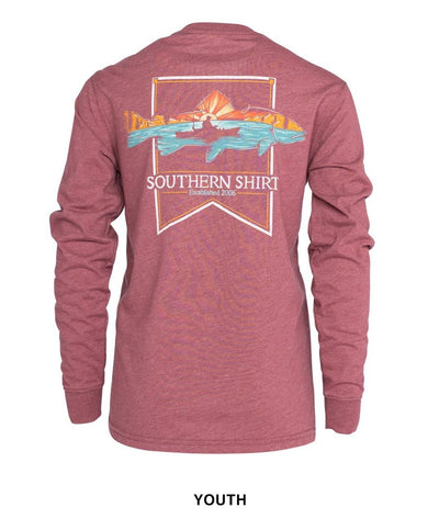 Southern Shirt Co - Boys Dawn Till Dusk Long Sleeve Tee