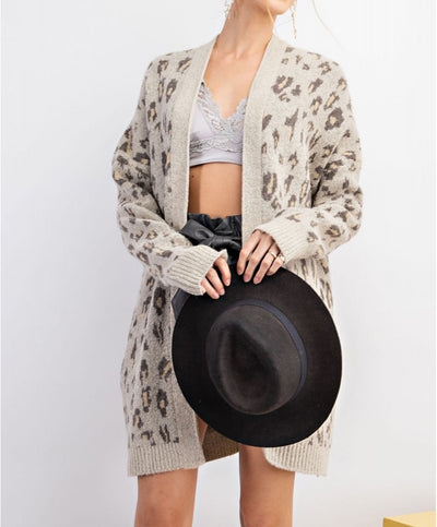 Own It Leopard Cardigan