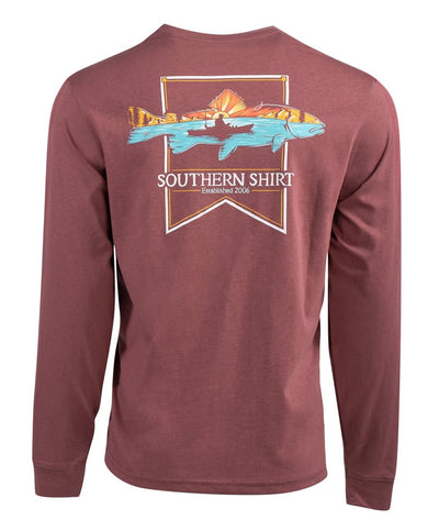 Southern Shirt Co - Dawn till Dusk Long Sleeve Tee