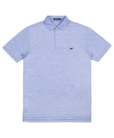 Southern Marsh - Havana Striped Performance Polo