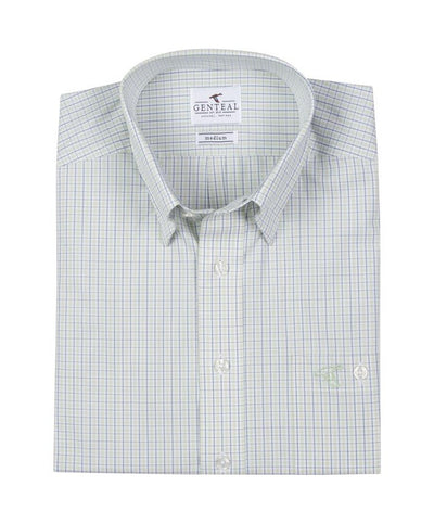 GenTeal - Exuma Performance Plaid Button Down
