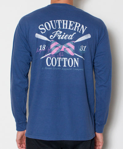 Southern Fried Cotton - Regatta Long Sleeve - Back