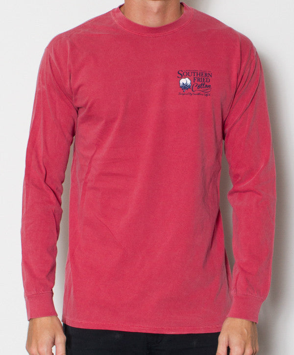 Southern Fried Cotton - Southern Man Long Sleeve Front