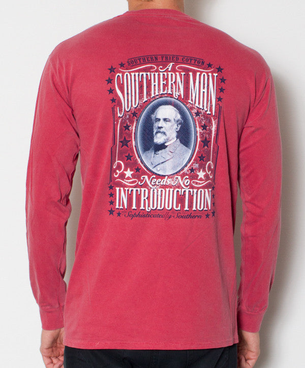 Southern Fried Cotton - Southern Man Long Sleeve Back