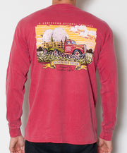 Southern Fried Cotton - Big Cotton Long Sleeve - Back