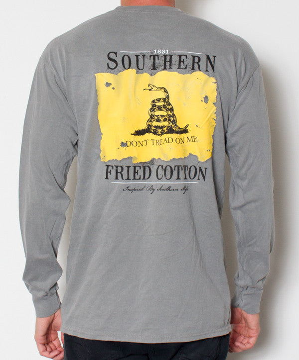 Southern Fried Cotton - Don't Tread Long Sleeve Back