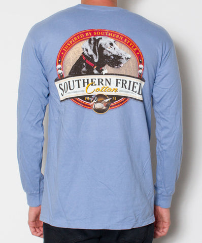 Southern Fried Cotton - Black Bella Long Sleeve Tee