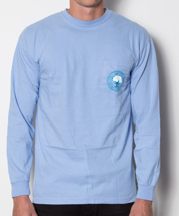 Southern Shirt Co. - Nautical Rope Long Sleeve - Maui Front