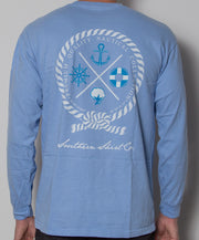 Southern Shirt Co. - Nautical Rope Long Sleeve - Maui Back