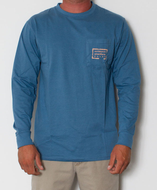 Southern Marsh - Authentic Long Sleeve Slate Front