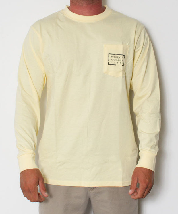 Southern Marsh - Authentic Long Sleeve Yellow Front