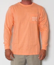 Southern Marsh - Authentic Long Sleeve Melon Front