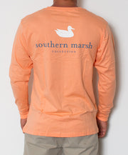 Southern Marsh - Authentic Long Sleeve Melon Back