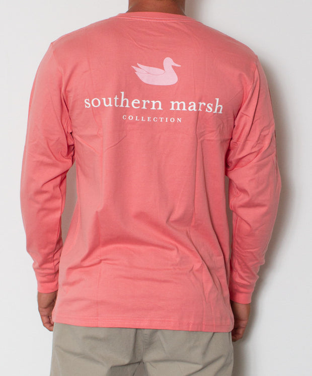 Southern Marsh - Authentic Long Sleeve Azalea Back