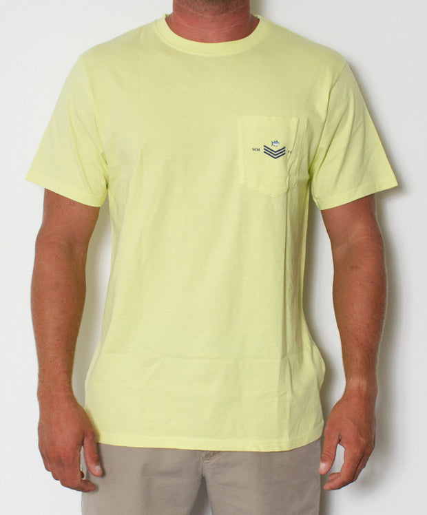 Southern Tide - Skipjack World T-Shirt Tropical Lime Front