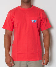 Southern Tide - Channel Marker T-Shirt Cayenne Front