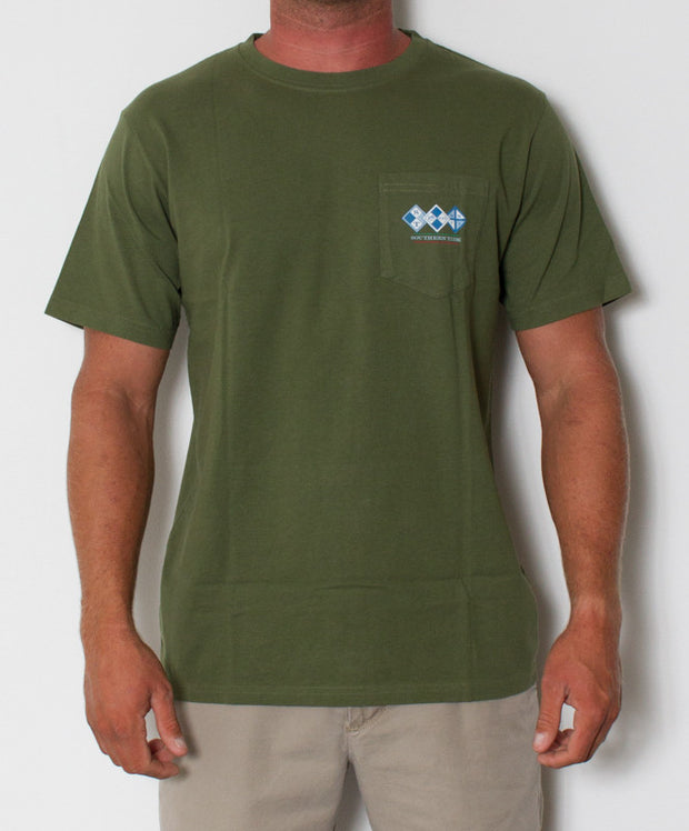Southern Tide - Channel Marker T-Shirt Cypress Front