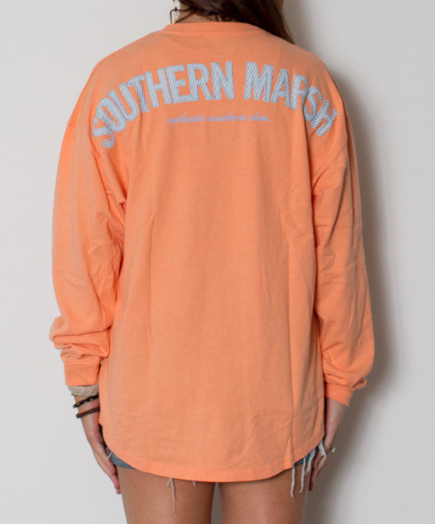 Southern Marsh - Rebecca Jersey Melon/Blue Back