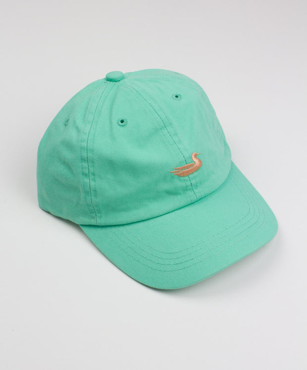 Southern Marsh - Washed Hat Bimini Green with Melon