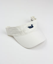 Southern Marsh - Visors White with Navy Duck