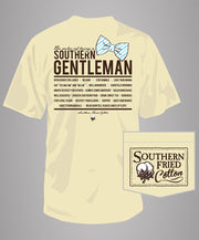 Southern Fried Cotton - Southern Gentleman S/S Pocket Tee - Banana