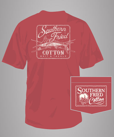 Southern Fried Cotton - Bait & Tackle S/S Pocket Tee