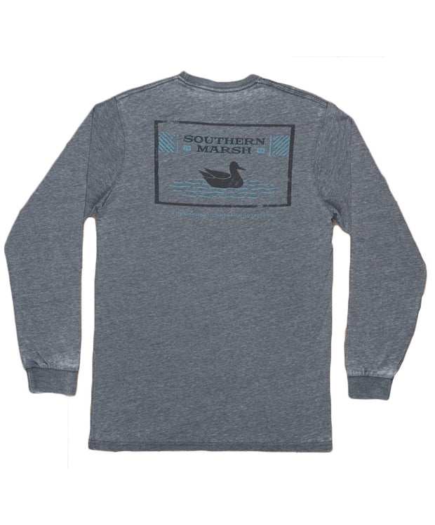 Southern Marsh - Seawash Long Sleeve Tee - Pond