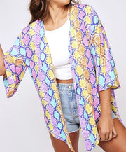 Slither Around Kimono