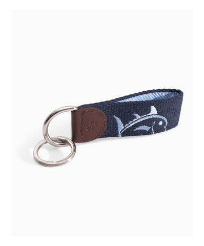 Southern Tide - Rising Skipjack Embroidered Key Fob