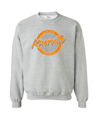 Old Row - Knoxville, Tennessee Circle Logo Crewneck Sweatshirt