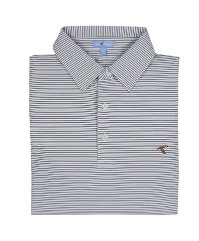GenTeal - Harbor Stripe Polo - P9