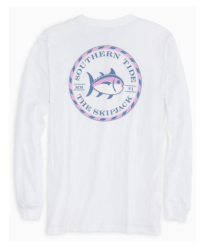 Southern Tide - Original Skipjack Circle Long Sleeve Tee
