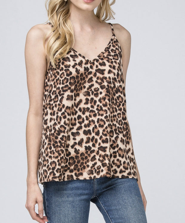 Call Me Leopard Top