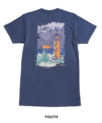 Southern Marsh - Youth Southern Horizons - Lighthouse Tee