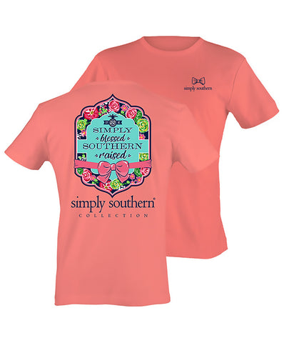 Simply Southern - Simply Blessed Southern Raised Tee
