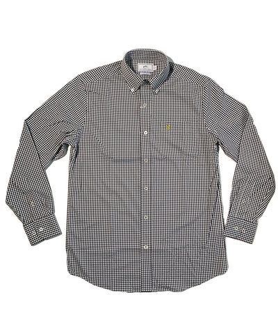 Southern Tide - Saints Gameday - Fleur De Lis Gingham Sportshirt