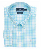 Southern Shirt Co - Starboard Plaid Cotton Club Shirt