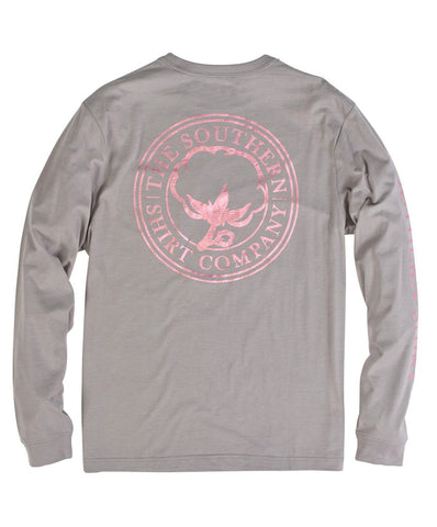 Southern Shirt Co - Foil Print Logo Long Sleeve Tee