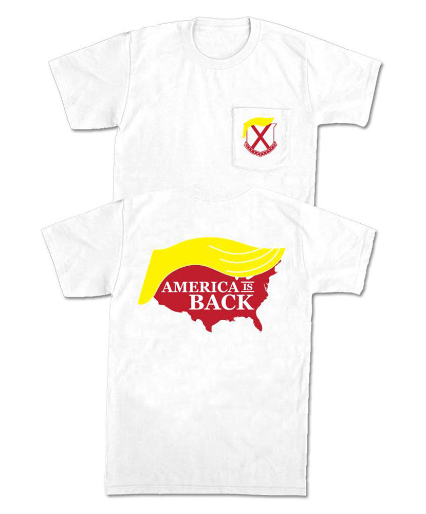 Old Row - America is Back Pocket Tee
