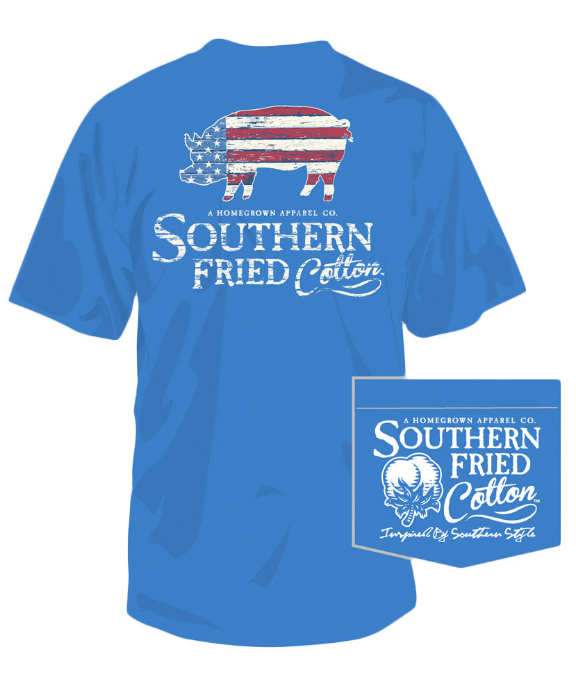 Southern Fried Cotton - American Pig Pocket Tee