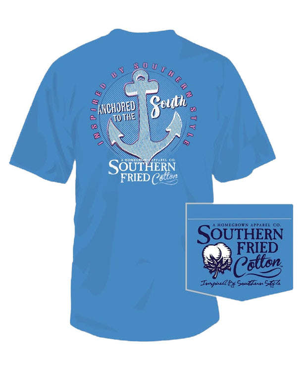 Southern Fried Cotton - Anchored to the South Tee