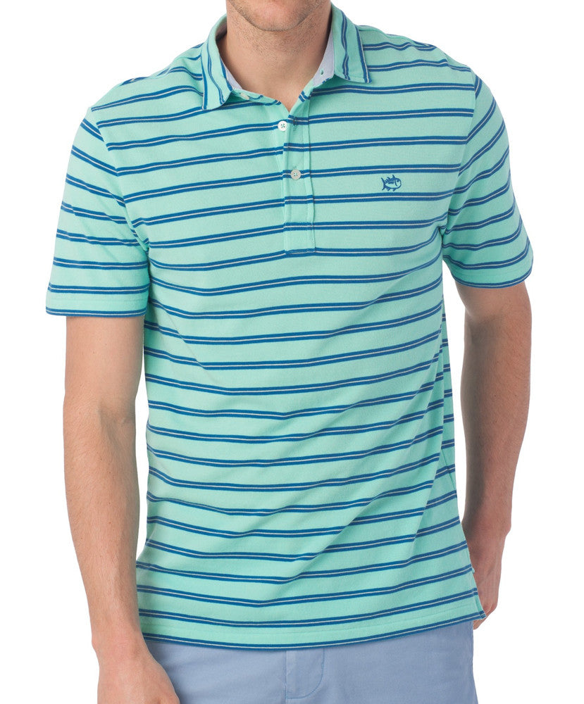 Southern Tide - Beachside Stripe Polo
