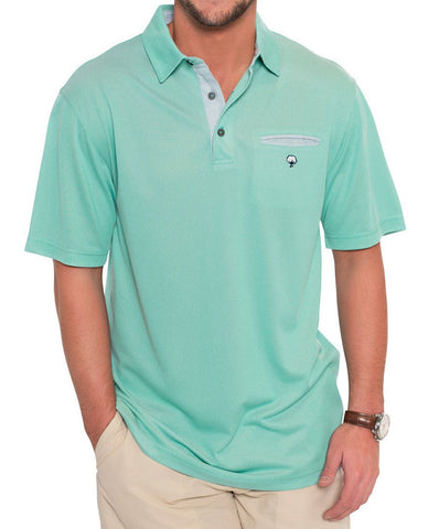 Southern Shirt Co. - Oxford Performance Pocket Polo