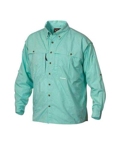 Drake - Cotton Wingshooters Long Sleeve Shirt