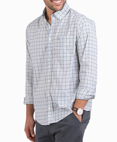 Southern Shirt Co - Clayton Check Performance Long Sleeve Shirt