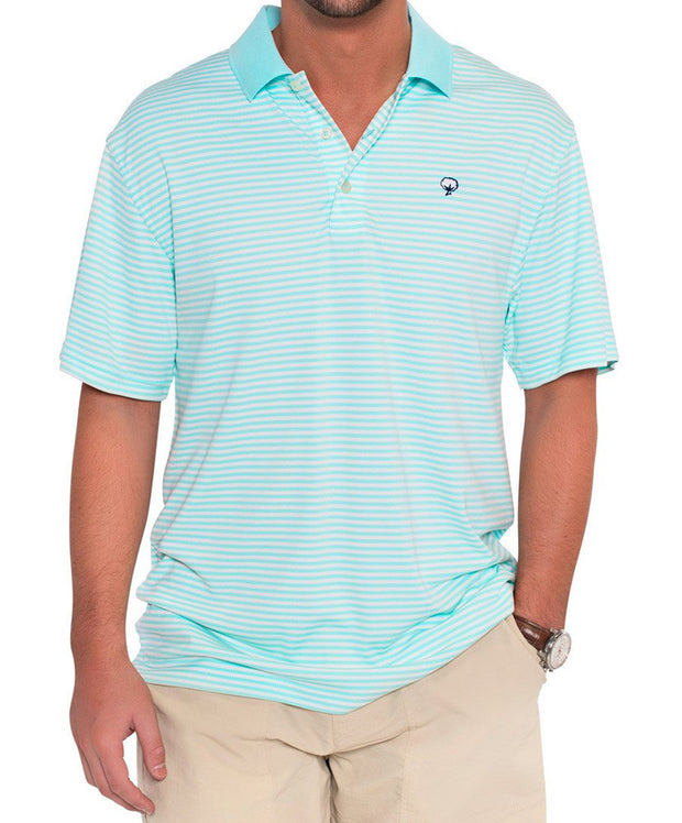 Southern Shirt Co. - Augusta Stripe Polo