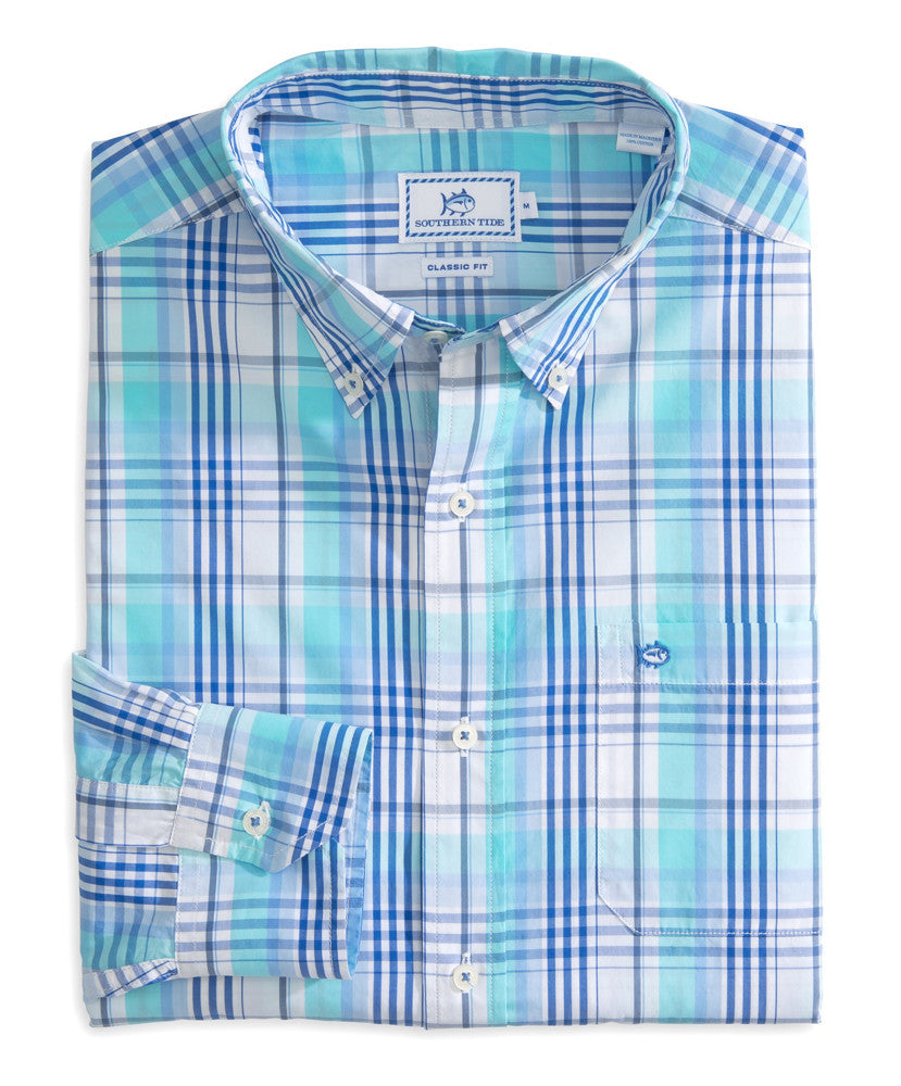 Southern Tide - Atlantic Plaid Sport Shirt