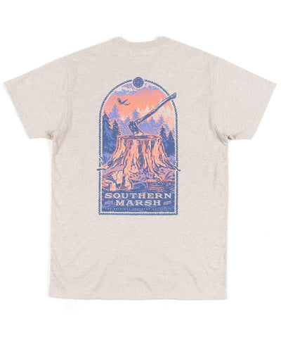 Southern Marsh - Relax & Explore - Axe Short Sleeve Tee