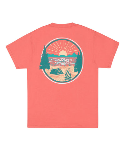 Southern Marsh - Summer Camp Sunsets Tee